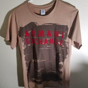 Vintage Armani exchange mens tshirt